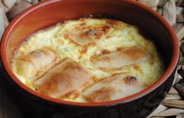 Strukli spécialité culinaire de la région de Zagreb