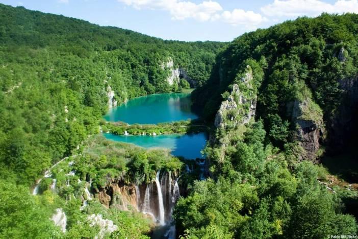 Chutes des lacs inférieurs de Plitvice