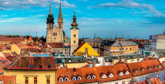 Zagreb Donji Grad Ville Basse Kaptol