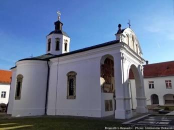 Eglise Monastère Krusedol Serbie