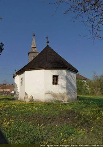 Eglise saint Georges à Ecka Serbie