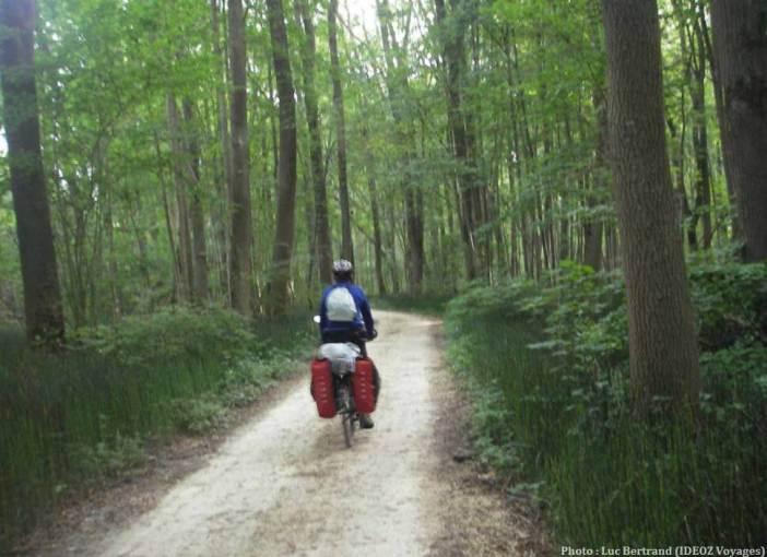 Chemins de cyclotourisme vers le Danube en Bavière