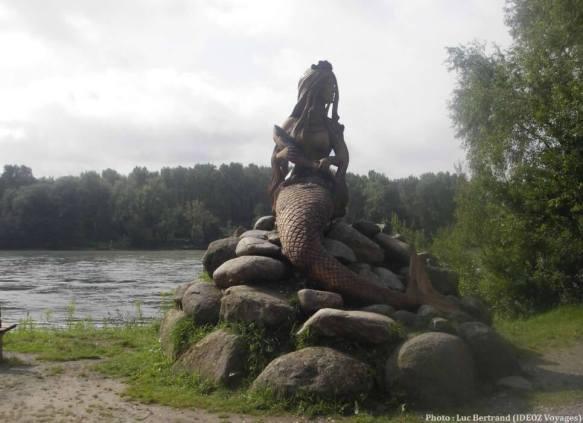 Passau sirène du Danube