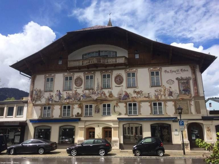 Oberammergau Lang Selig Erben maison natale de Georg Lang