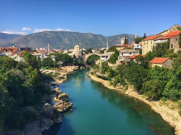 Vieille ville de Mostar et Neretva
