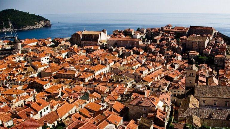 Intérieur de la vieille ville de Dubrovnik