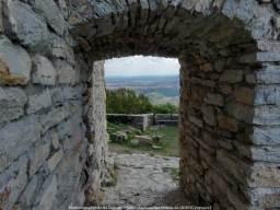 Medvedgrad à l'intérieur du château