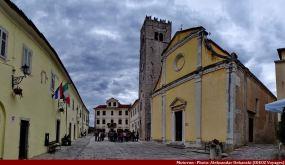 Motovun église du village médiéval d'Istrie