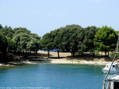 Plage en Istrie