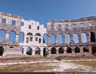 Pula amphithéatre antique