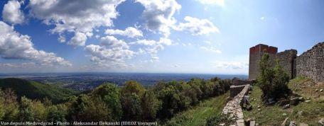 Vue depuis le chateau Medvedgrad