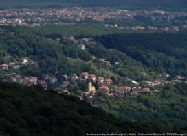 Zagreb Sestine depuis Medvedgrad