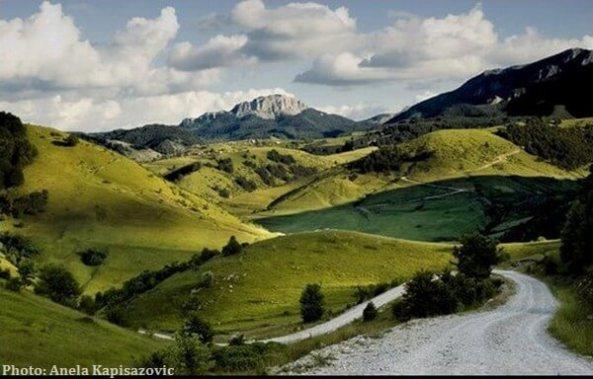montagnes en Bosnie Herzégovine