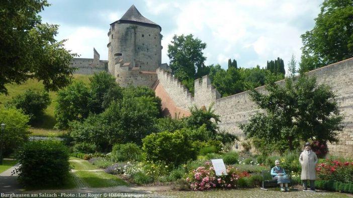 Burghausen am Salzach chateau et jardin