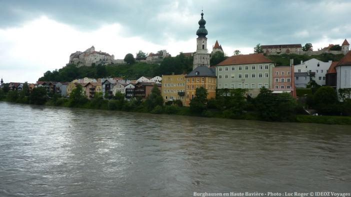 Burghausen en Haute Bavière