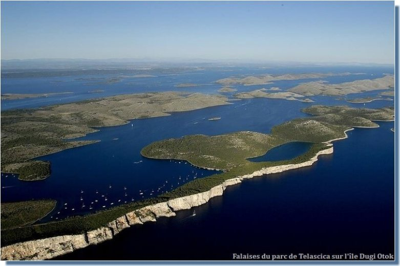 Dugi otok parc Telascica en Croatie
