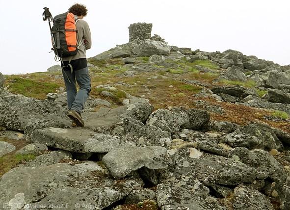 Lofoten ascension du sommet du matmora