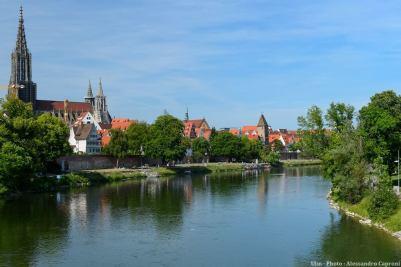 Ulm Cathédrale et Danube