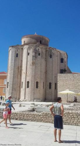 Zadar église de saint Donat