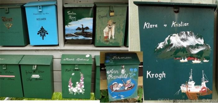 lofoten boîte aux lettres illustrées