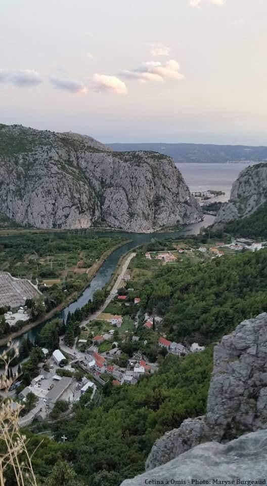 canyon de la cetina à omis