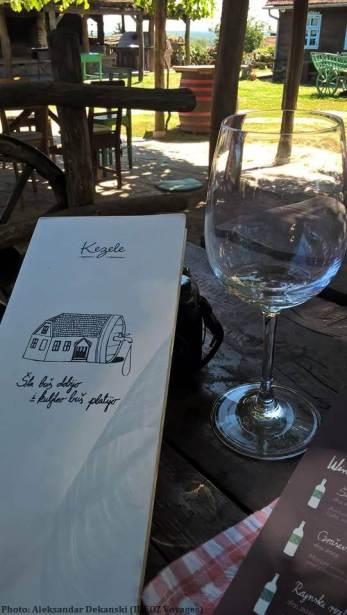 Etno vino Kezele dégustation du vin
