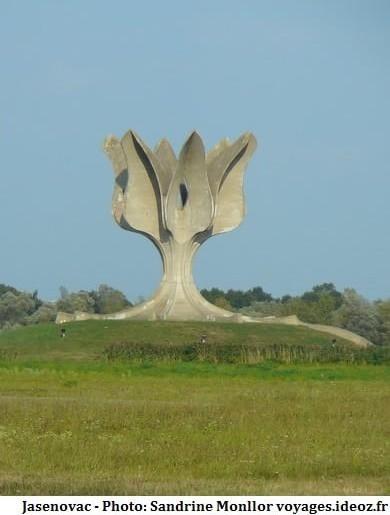 Jasenovac Camp de concentration et d'extermination croate en Croatie centrale