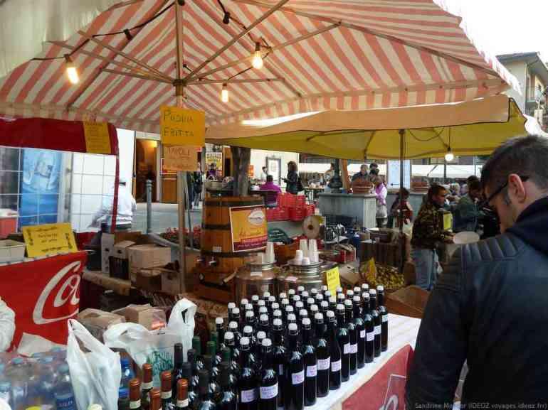 Vin Cagnina vin nouveau d'Emilie Romagne
