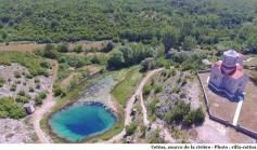 Cetina source de la rivière