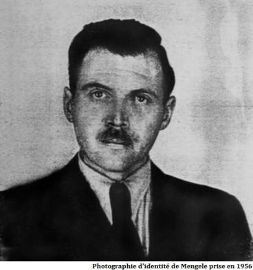Josef Mengele Photographie d'identité en 1956