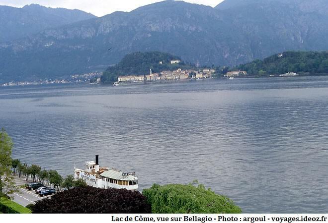 Vue sur Bellagio