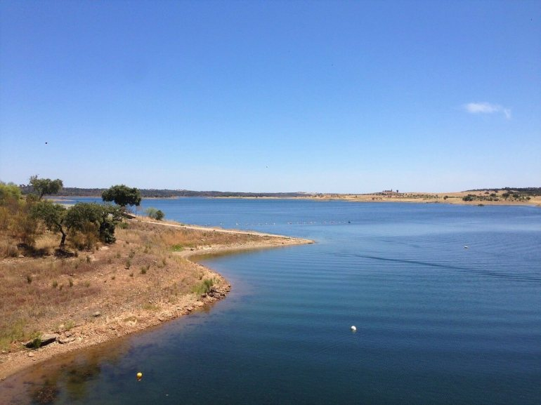 Lac Alqueva au Portugal