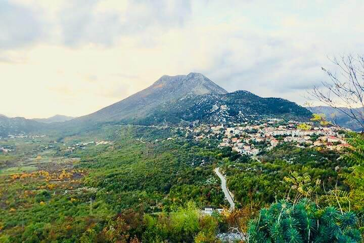 Stasevica en Dalmatie du sud
