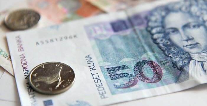 Kuna billet de monnaie croate