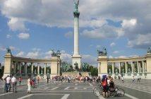 Place des héros à Budapest