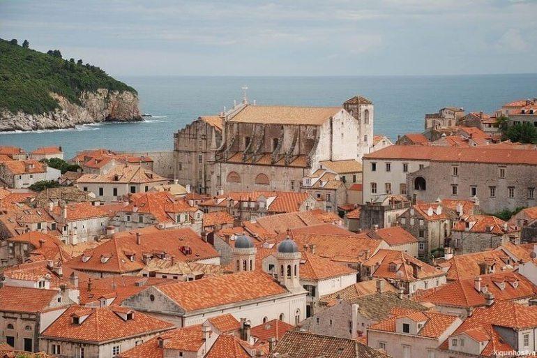 Centre de la vieille ville de Dubrovnik