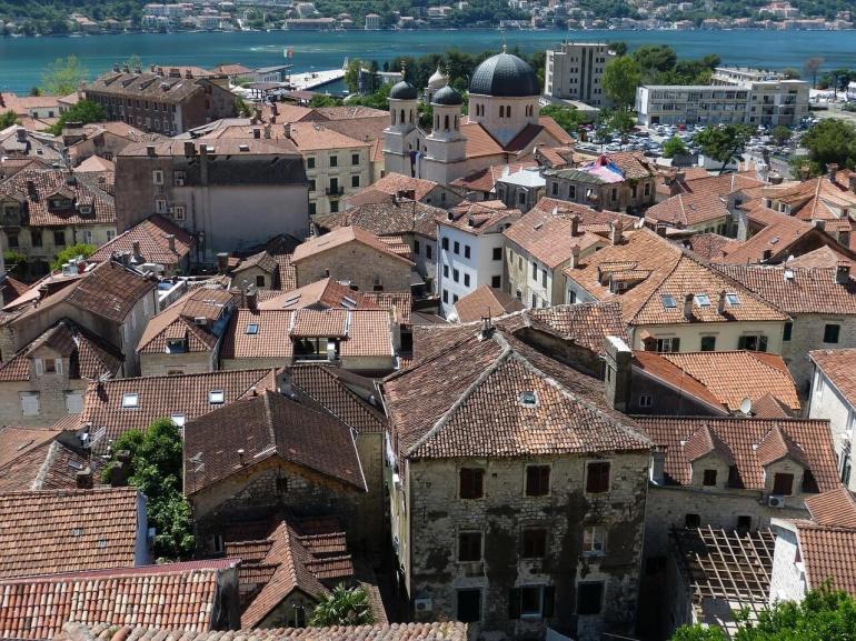 Centre de la vieille ville de Kotor