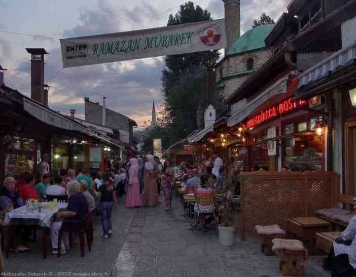 Bravadziluk Sarajevo rupture du jeune lors du ramadan