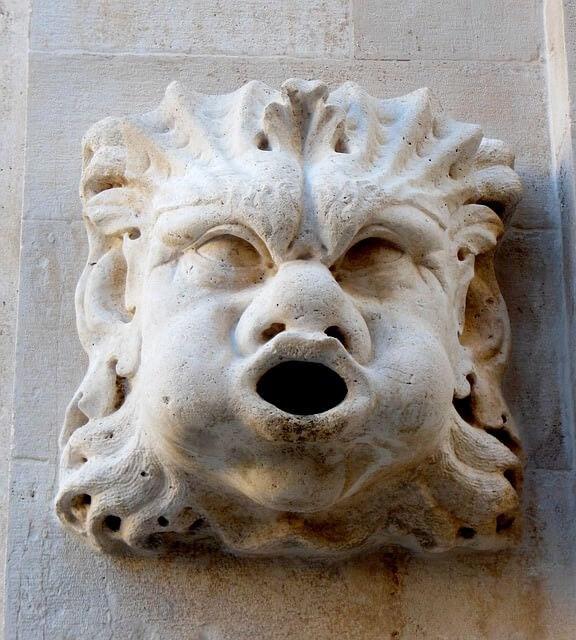 Dubrovnik statue de gargouille