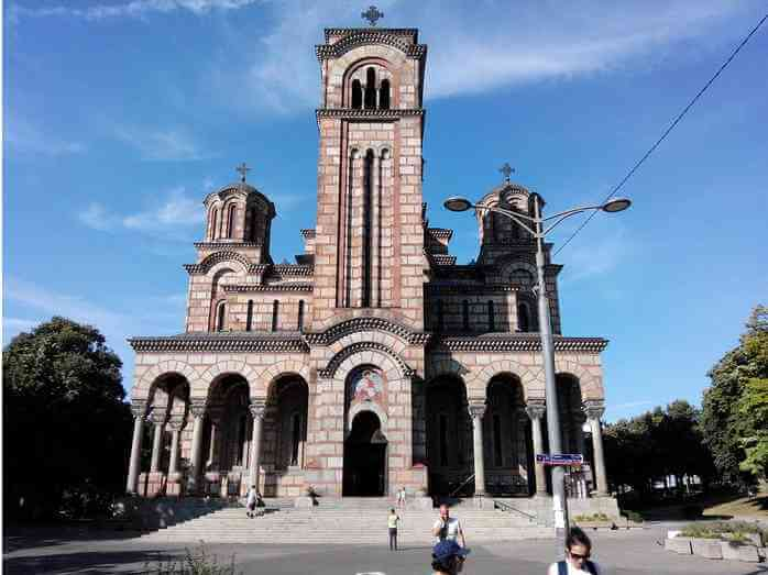 Eglise saint Marc de Belgrade