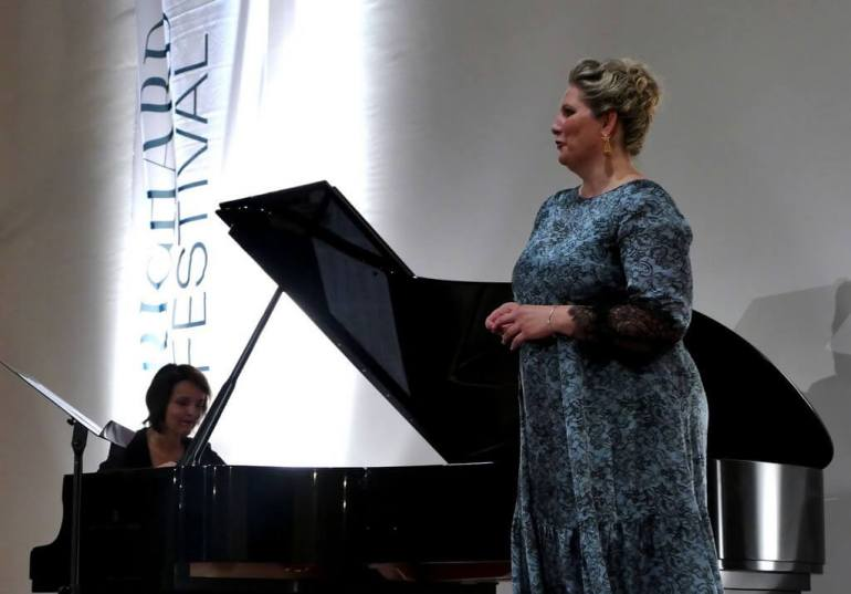 Festival Richard strauss à Garmisch partenkirchen 2018 récital avec Okka von der Damerau et la pianiste Karola Theill