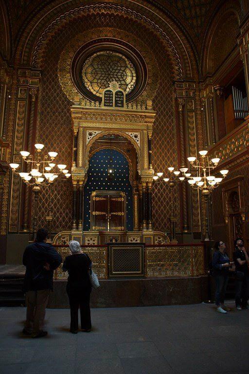 Synagogue vieille nouvelle de Prague