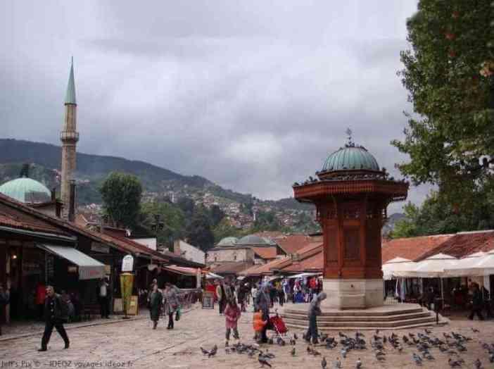 sarajevo fontaine de bascarsija