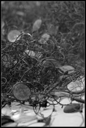 Camp d'Auschwitz Birkenau tonnes de lunettes