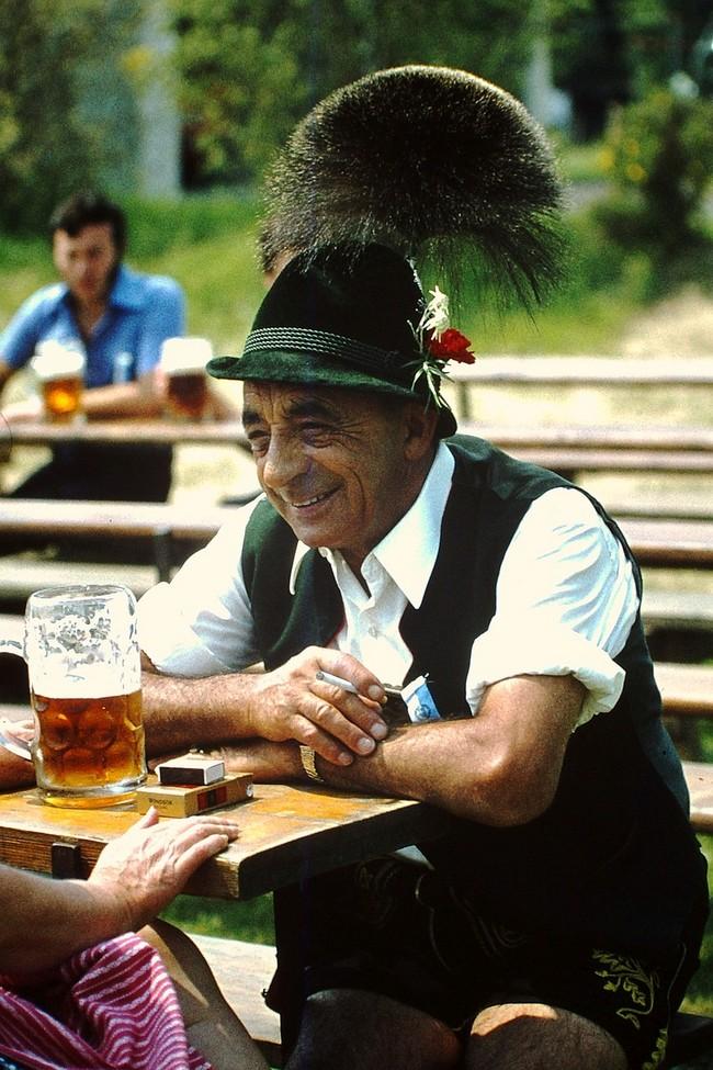 Chapeau bavarois traditionnel