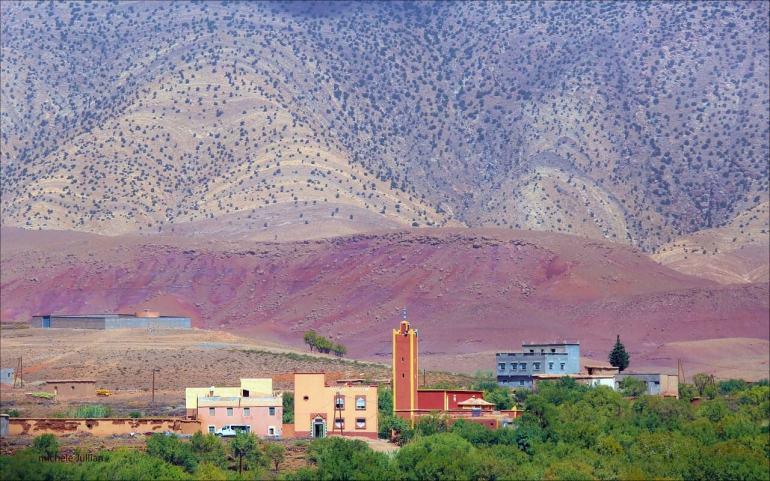 Couleurs des villes au Maroc