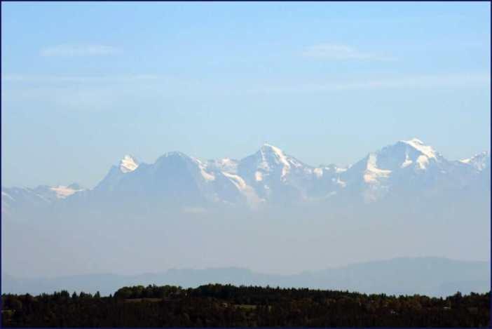 Paysage des Alpes Suisses