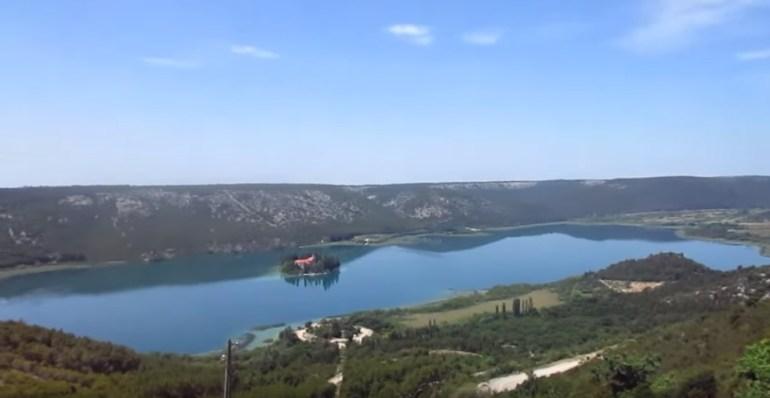 Parc national Krka, un beau parc à cascades près de Sibenik en Dalmatie du Nord 6