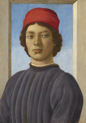 Filippino Lippi - Portrait d'un jeune homme (vers 1485) © National Gallery of Art, Washington, Andrew W. Mellon Collection