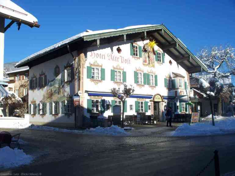 Hotel Alte Post Oberammergau en hiver